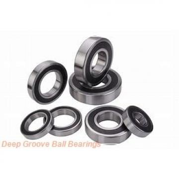 25,000 mm x 62,000 mm x 38 mm  NTN UC305D1 deep groove ball bearings