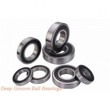 SNR US206-19 deep groove ball bearings