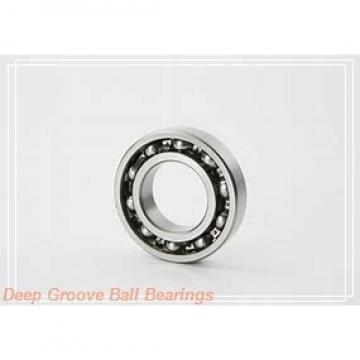 75 mm x 130 mm x 92,1 mm  SNR EX215G2 deep groove ball bearings