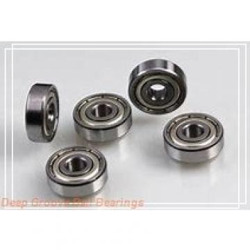 3 mm x 8 mm x 3 mm  ZEN F693 deep groove ball bearings