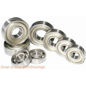 20 mm x 47 mm x 21,5 mm  FYH SA204F deep groove ball bearings