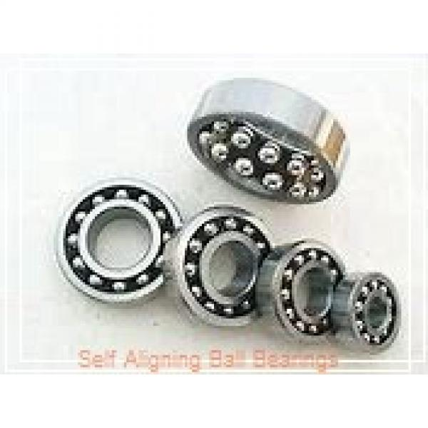 35 mm x 80 mm x 31 mm  NSK 2307 self aligning ball bearings #1 image